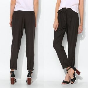 UO Silence + Noise Wrap-Top Trouser Pant